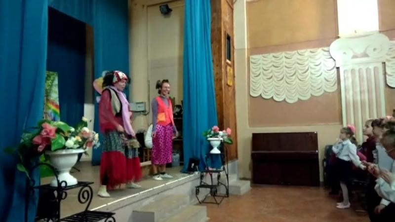 Спектакль Ульянка хулиганка. Эжвинский интернат. Фонд през. грантов
