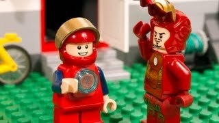 lego iron man vs ultron
