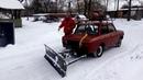 Лопата для уборки снега на ЗАЗ. d-tolik