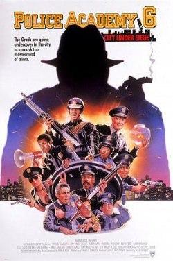 Loca academia de policía 6: Ciudad sitiada HD (1989) - Latino