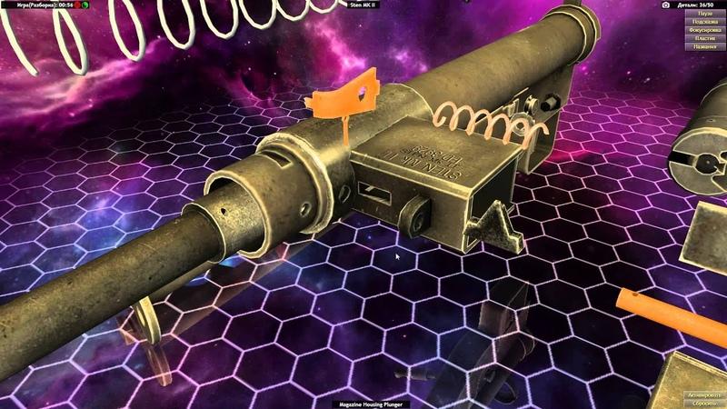 World of Guns: Gun Disassembly lp 18 Sten MK II [HD 1080p 60fps]