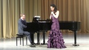 Анна Сарапениа Финал камерного отделения XI Международного конкурса молодых оперных певцов