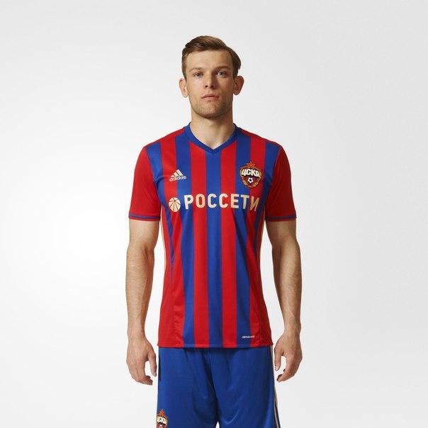 Домашняя игровая футболка ЦСКА