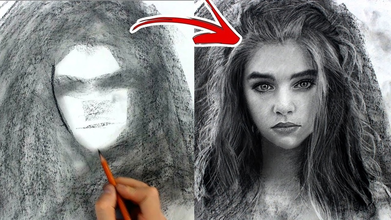 Do You draw in this crazy process? - Charcoal power!