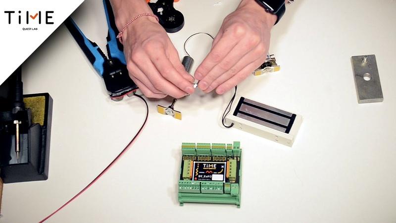 Электроника для квеста. Магнитный замок, магнитная защелка