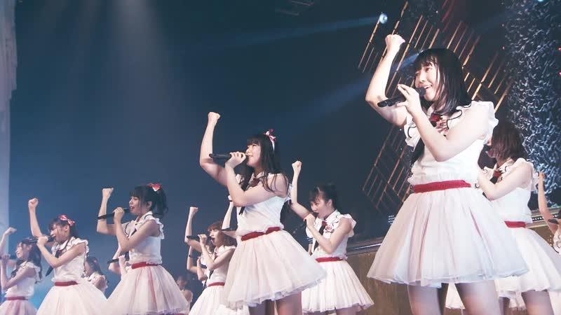 NGT48 Tandoku Concert ~Mirai wa Doko Made Aozora na no ka~ @TDCH 2018.01.13 (часть 2)