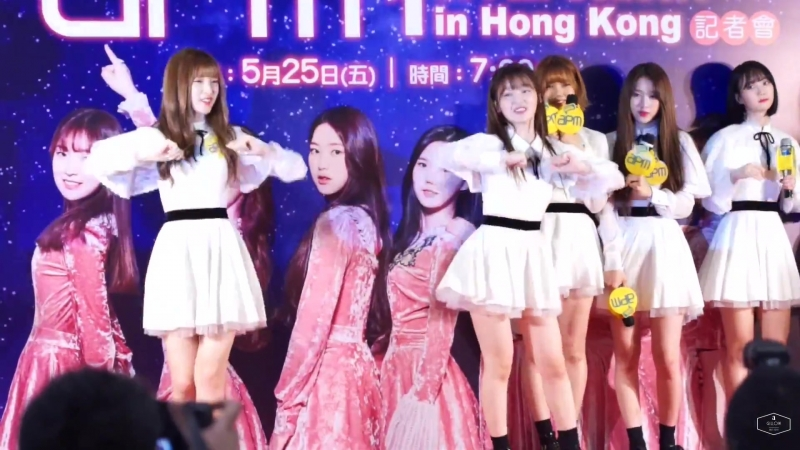 180525 Dance cut @ Oh My Girl 오마이걸 1st Fan Concert in Hong Kong Press conference