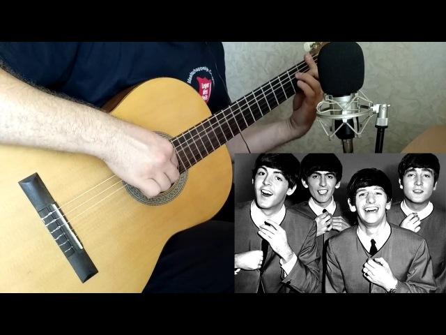 Let It Be The Beatles на классической гитаре Ноты и табы