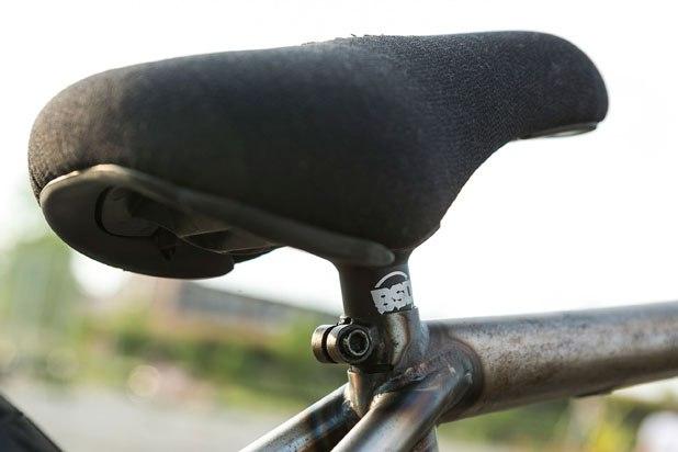 Nick Seabasty bikecheck saddle
