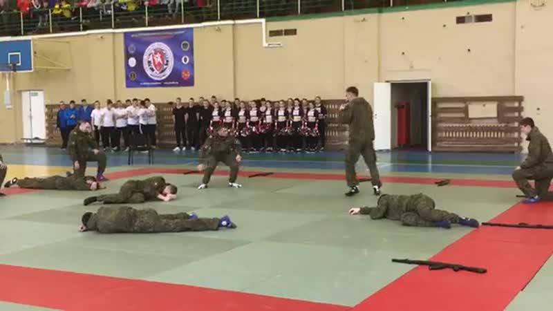 12 ноября 2017 - Первенство Военной Академии связи по армейскому рукопашному бою