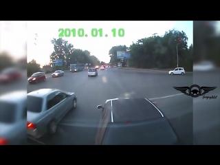 Brake checks vs semi truck driver. brave or crazy man