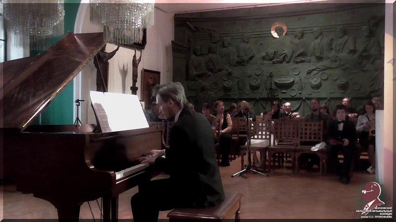 Гагулашвили Александр Две части сонаты (пианист Александр Соловьев)