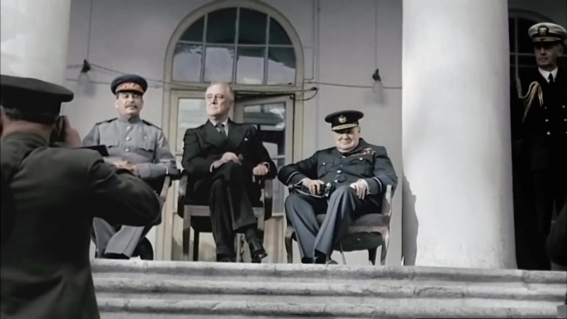 Д/ф И.В. Сталин в Иране (Тегеранская конференция 1943 г.)