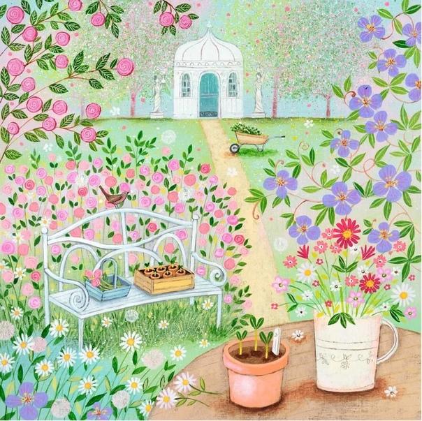 Художник-самоучка Люси Гроссмит создает картины в жанре наивной живописи Она выросла в уютном загородном домике и вдохновляется окружающей природой и сельскими красотами.Свой путь Люси начала