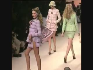 Karl lagerfeld gave us 90s chanel. rest in paradise.