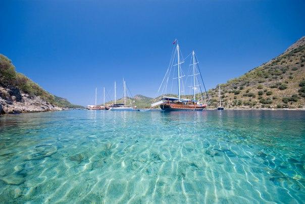 Клеопатра, остров Седир. Топ-5 лучших песчаных пляжей Турции