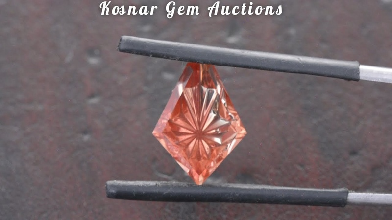Striking Fantasy Cut Oregon Sunstone Gemstone from KGC