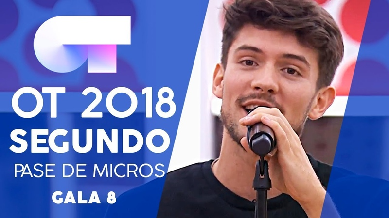 EVERYTHING - CARLOS RIGHT | SEGUNDO PASE DE MICROS GALA 8 | OT 2018