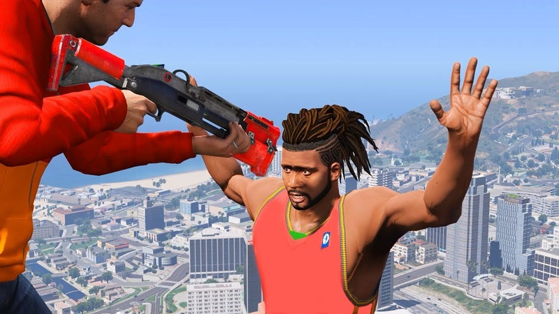 GTA 5 mod Fortnite Tactical Shotgun [FULLY ANIMATED]