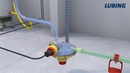 Automatic flushing poultry drinking lines in cage and aviary management