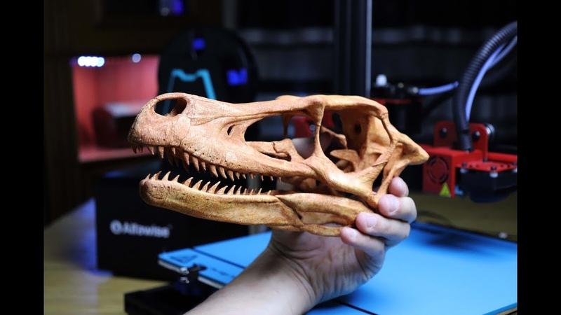 Домашняя 3D печать на принтере Alfawise U20