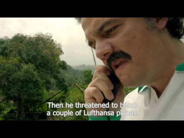 Narcos: Pablo Escobar's diplomacy (With English subtitles)
