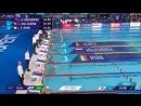 Men 50 m Backstroke Kliment Kolesnikov 24.00 World Record Glasgow 2018