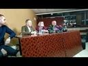 Квачков освобожден Небольшая пресконференция