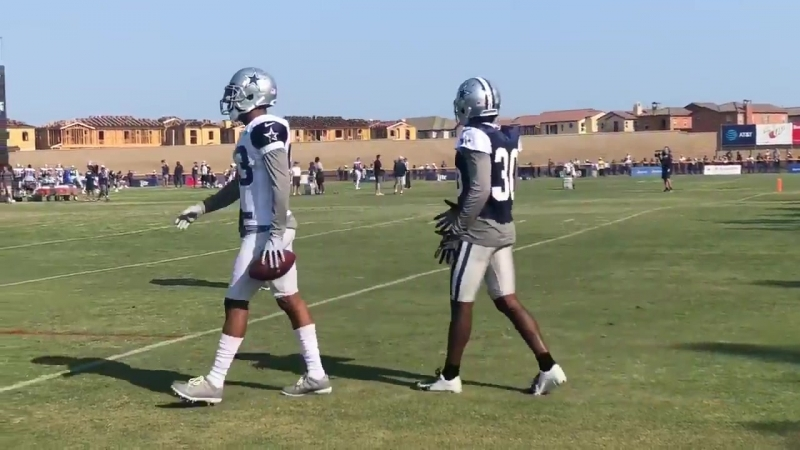 Chris Richard with some tips for AB CowboysCamp Day 13