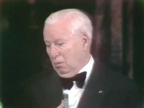 Charlie Chaplins Honorary Award 1972 Oscars