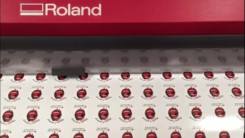 Печать этикеток на глянцевой плёнке диаметром 5 см. 3р./шт. для @chocofruits_vlg34