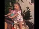 Алла-Виктория, прогулка на лошади и плавание в бассейне