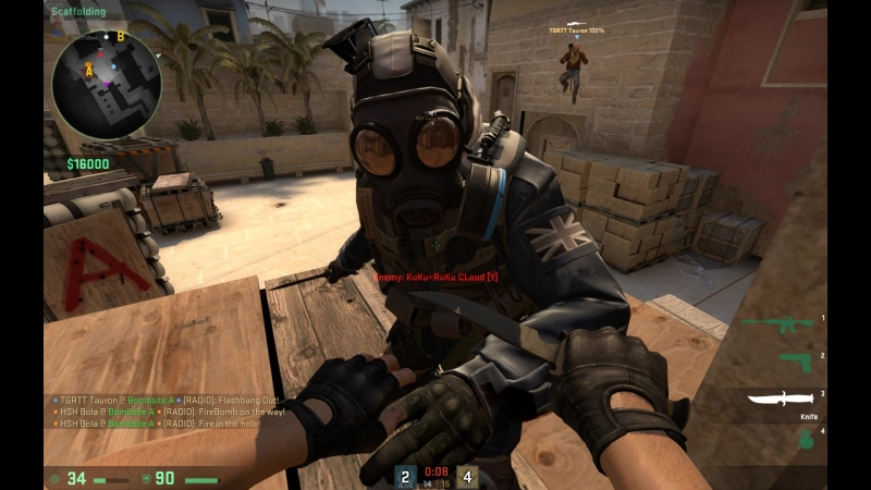 Counter-strike Global Offensive 15-15