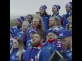 Исландцы спели Калинку-малинку