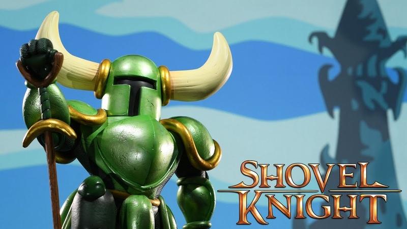 Shovel Knight - Shovel Knight: Player 2 Statue Trailer