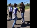 (2) Two cute girls fighting hard in road Girls fighting - YouTube