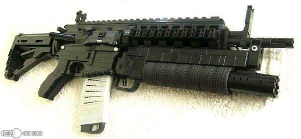 инструкция по сборке пистолета из лего видео - фото 8