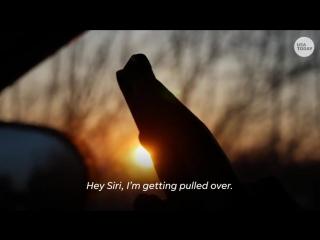 Hey Siri, I'm getting pulled over