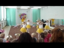 Наши девчули участвовали в конкурсе Танцевальная мозаика.Заняли 2 место!