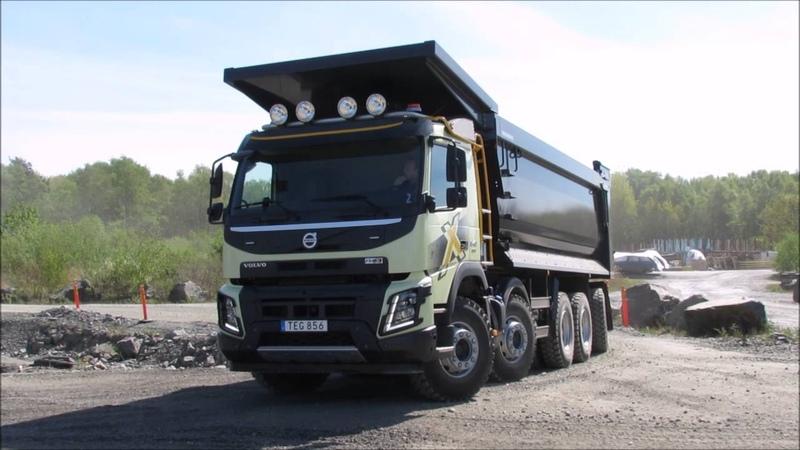 Volvo FMX chasis cinco ejes encamion