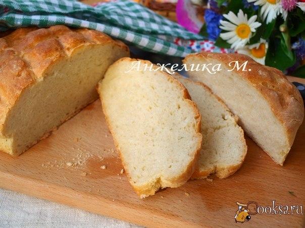 Быстрый домашний хлеб Предлагаю вам очень вкусный и быстрый домашний хлебушек! Готовится просто, а результат просто потрясающий!