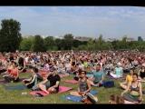 Международный день йоги в России 2018 ( площадка центра