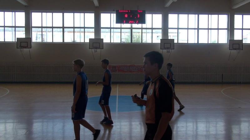 ППК-2018 Ю2005. Игра 07 Олимпиец-1 - Темп