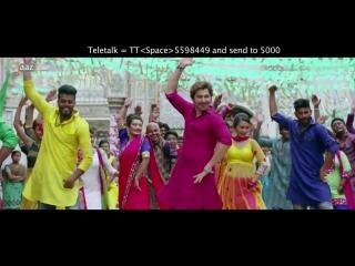 Mubarak Eid Mubarak - Full Video - Jeet - Nusrat Faria - Baba Yadav - Akassh -  Badsha Bengali Movie.mp4