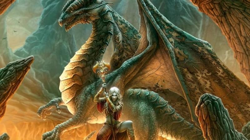 Время магии и Драконов. Красивые видеоклипы