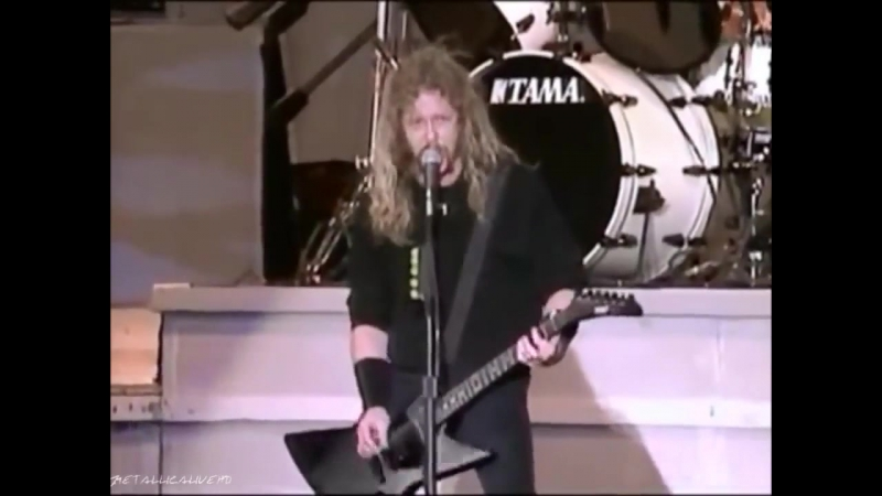 Metallica - For Whom the Bell Tolls (Live Donington, August 17, 1991)