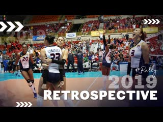 Retrospective 2019 the best womens volleyball rally in 2019