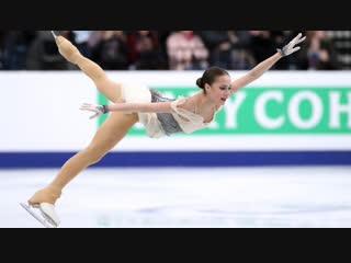 Алина Загитова - 1 место в короткой программе на Чемпионат Европы по фигурному катанию 2019