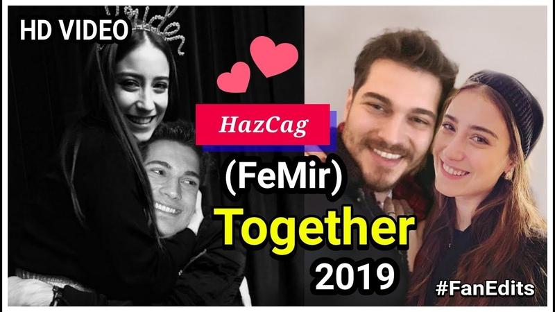 Çağatay Ulusoy and Hazal Kaya cute photos 🤗 | Feriha and Emir together ❤ part - 2