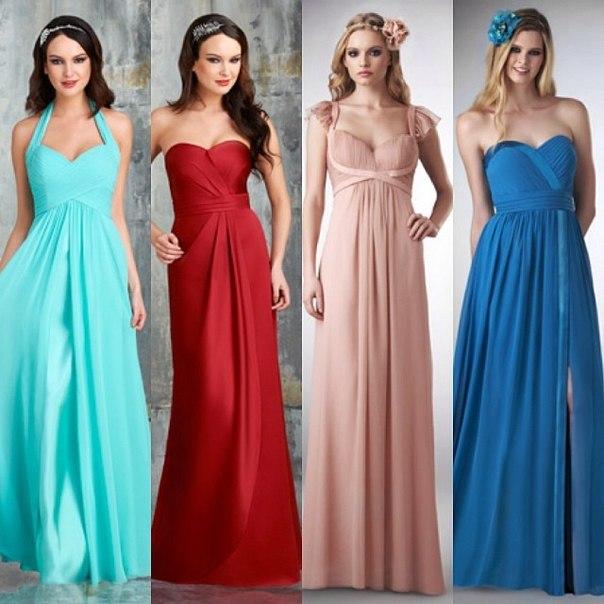 последняя мода платья длинные